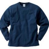 CROSS&STITCH RL1216 オープンエンドマックスウェイトロングスリーブTシャツ(リブあり)