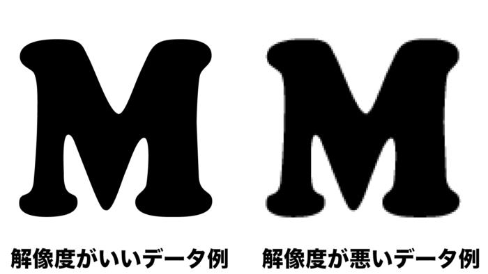 解像度フォント例
